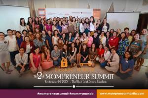 Mompreneur Group Photo