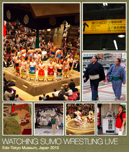 Watching Sumo Wrestling Live Copyright  © Em Matias-Sulit